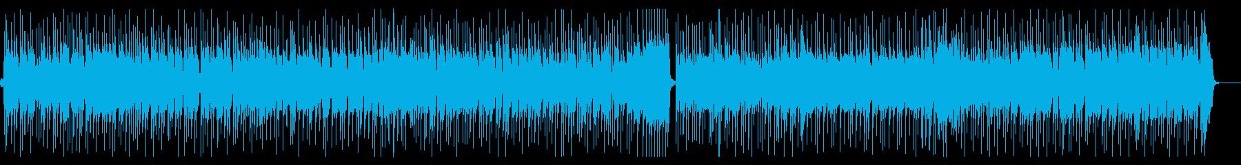 追跡シーンや捜索などのファンク風の再生済みの波形