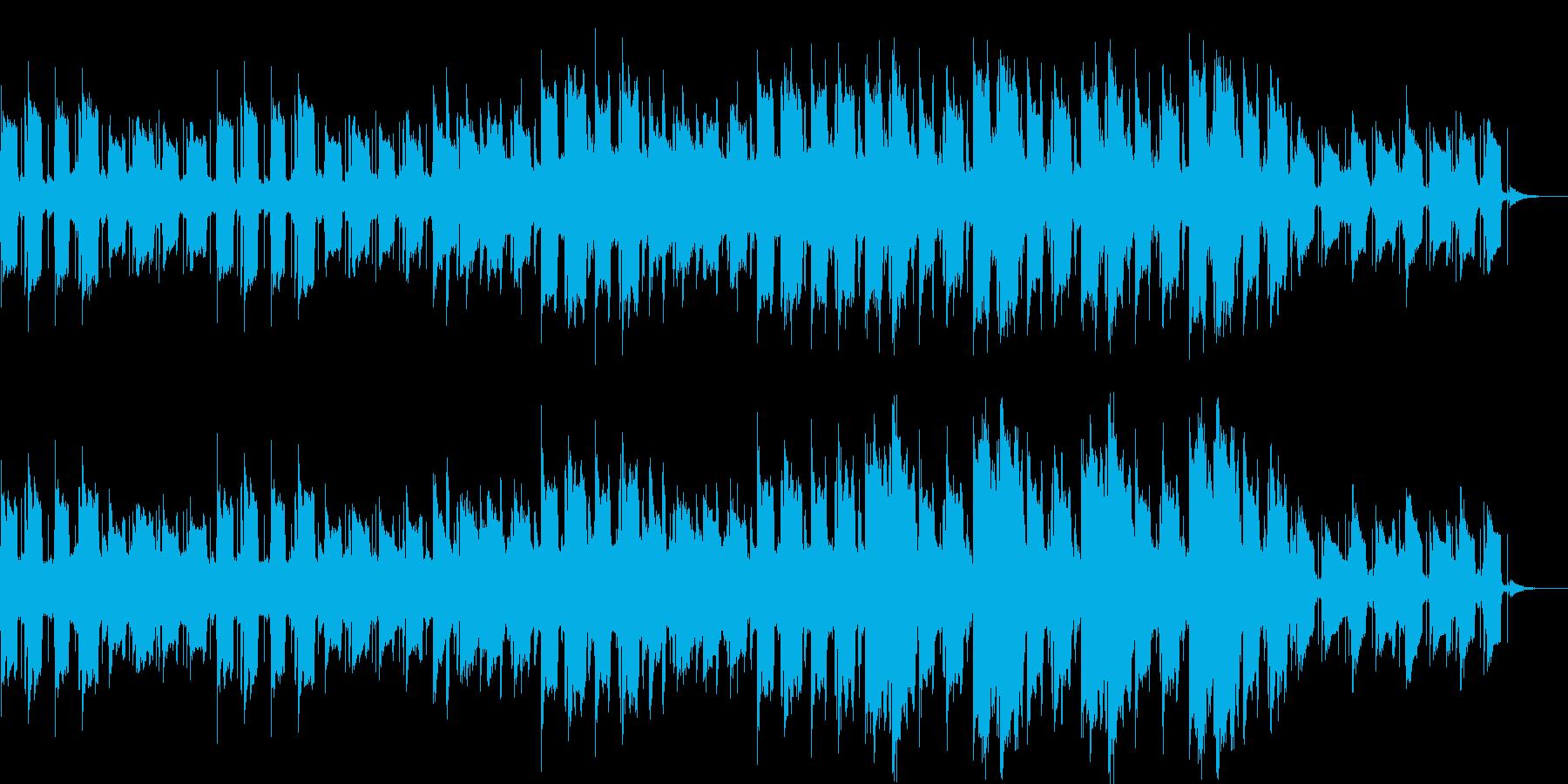 ホラーな洋風のBGMです。の再生済みの波形