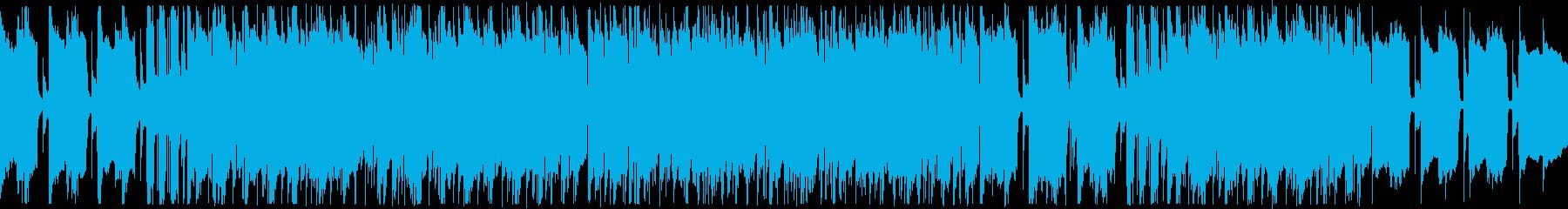 ループ/切ない雰囲気のシティポップ002の再生済みの波形