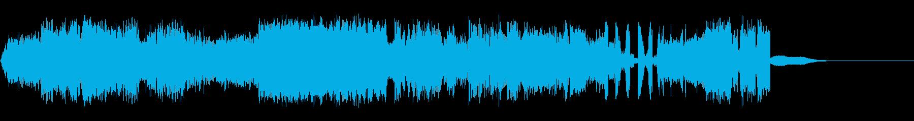 巻き戻しの再生済みの波形