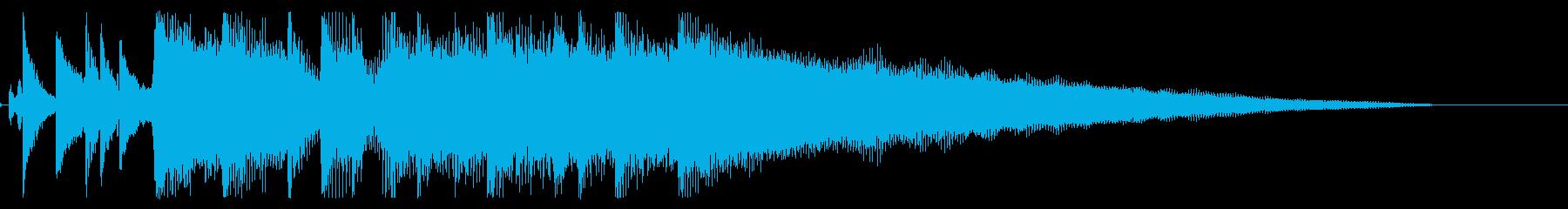【気分一新3】の再生済みの波形