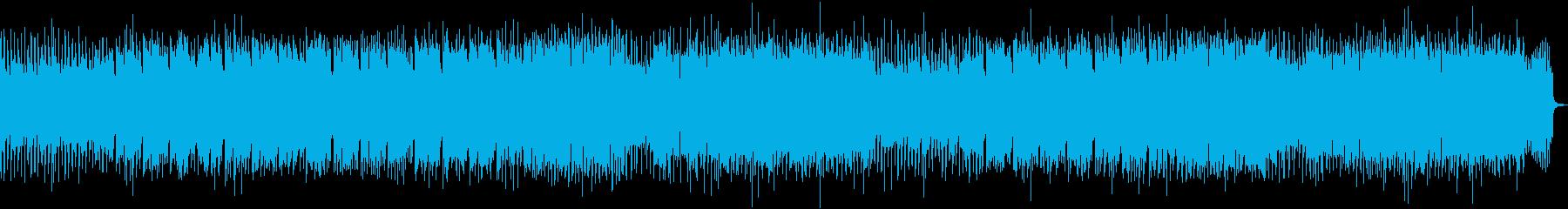 メロディアスで陽気なハードロックの再生済みの波形