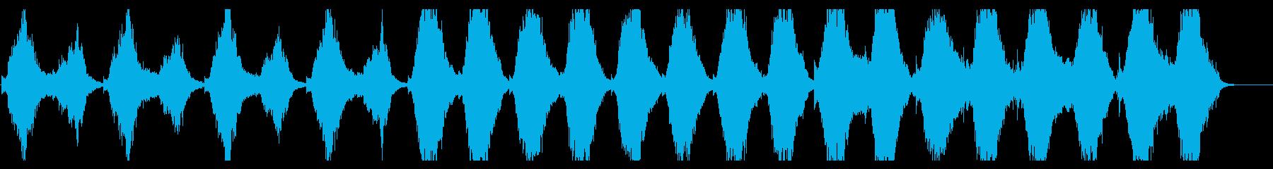 映画レヴェナントのテーマを思わせる楽曲の再生済みの波形