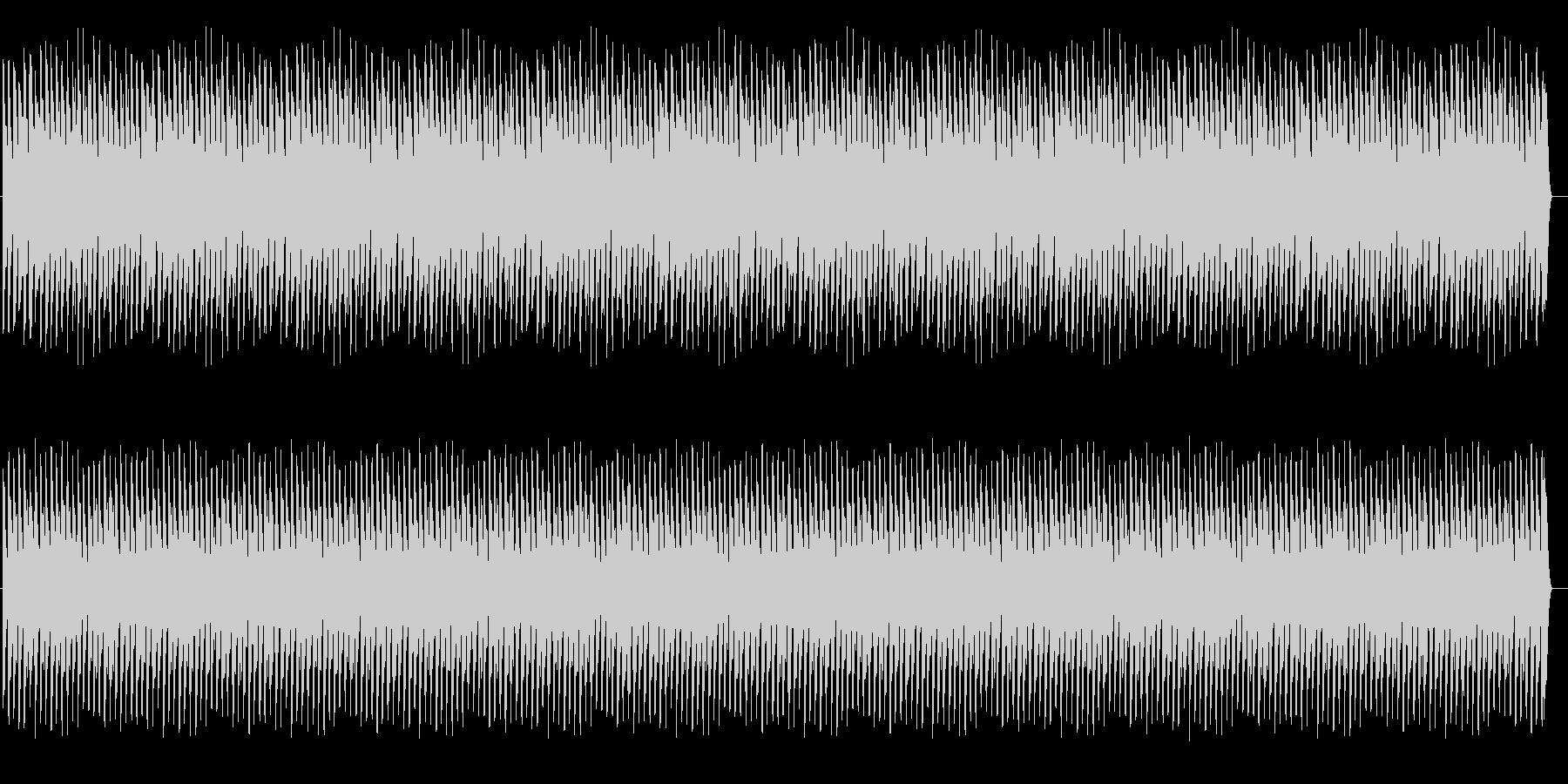 【無限音階】下がり続ける音 緊張感・不安の未再生の波形
