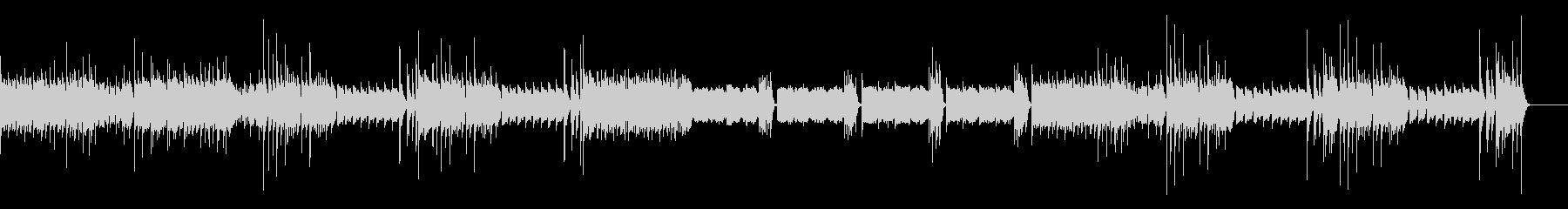 ハンガリー舞曲(シンセ版)の未再生の波形