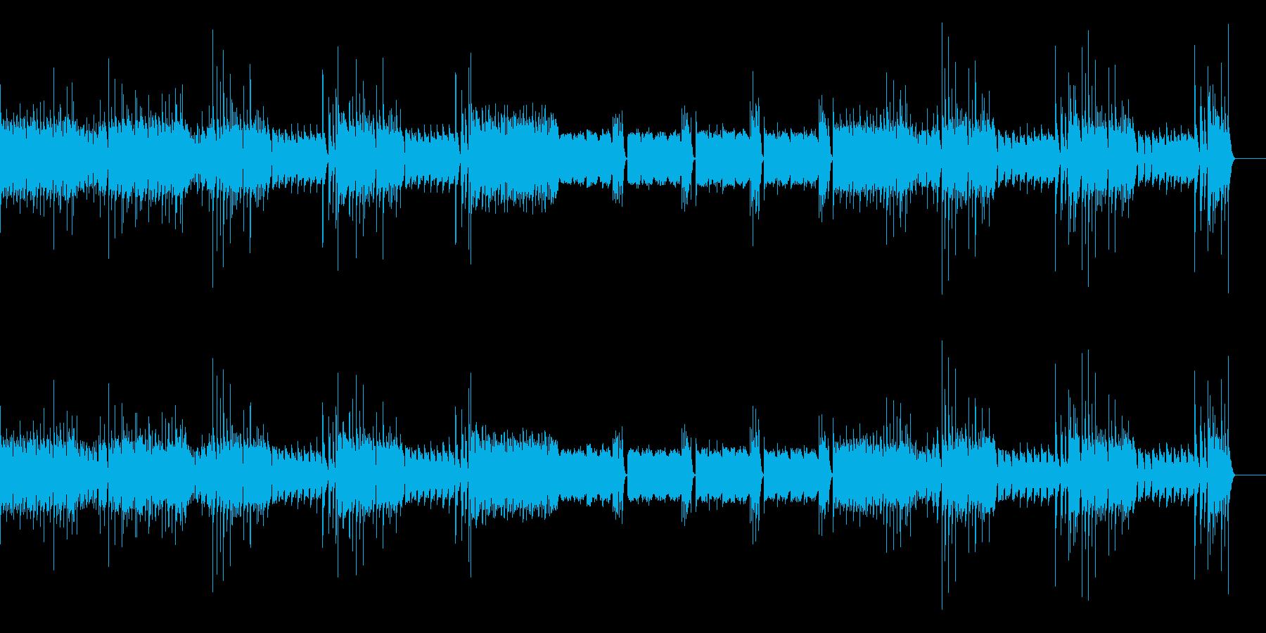 ハンガリー舞曲(シンセ版)の再生済みの波形