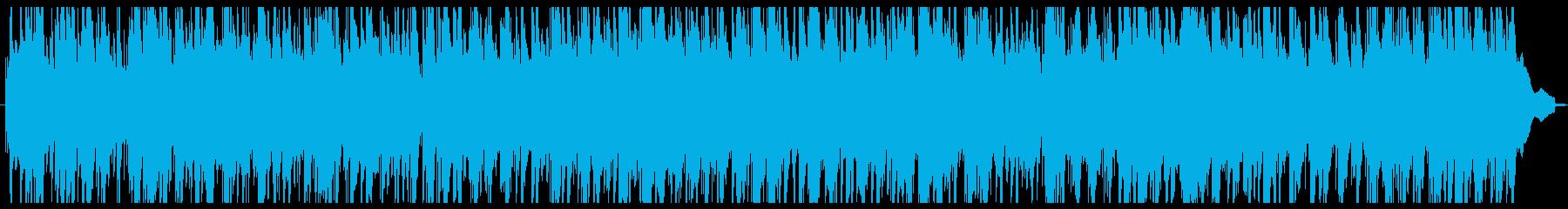 優しいナイロンギターのアコースティックなの再生済みの波形