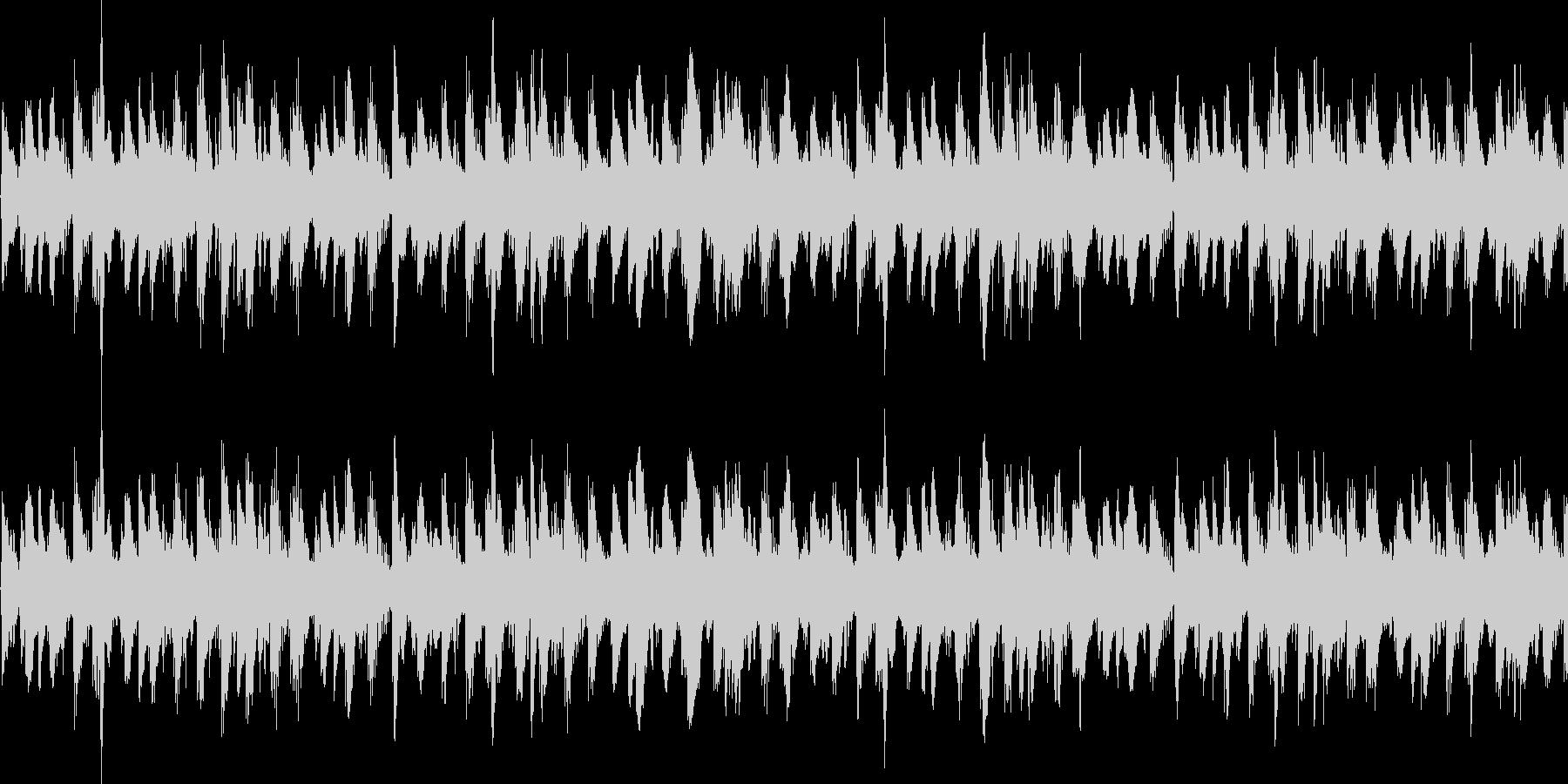 BGMに最適 おしゃれなループ音源の未再生の波形