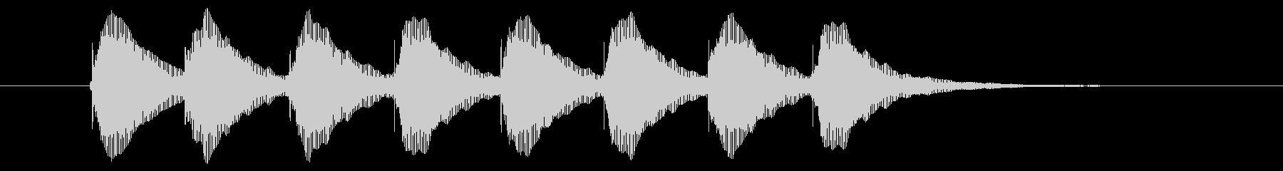 トムとジェリー風 ひらめき 発見 発明3の未再生の波形