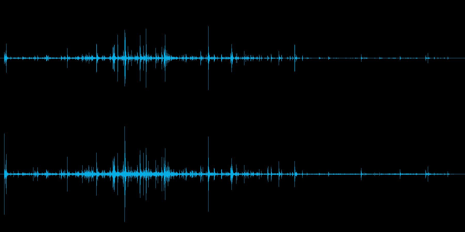 石 ラージフォールロング01の再生済みの波形