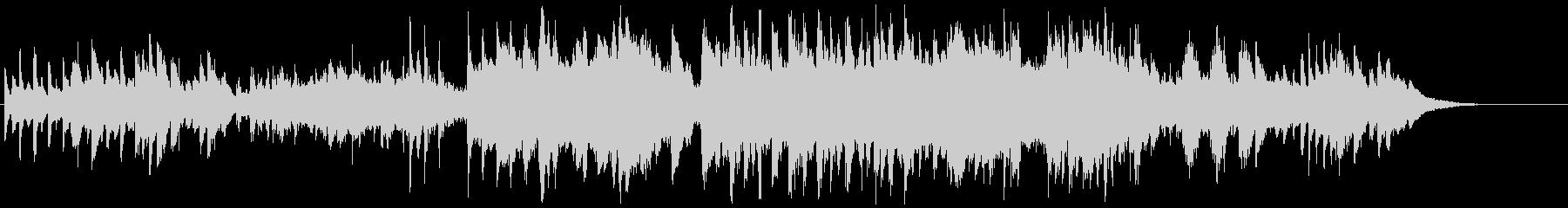 モーツアルトのようなピアノクインテットの未再生の波形