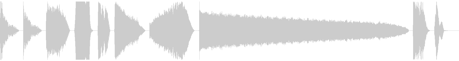 DJ Power Down X10の未再生の波形