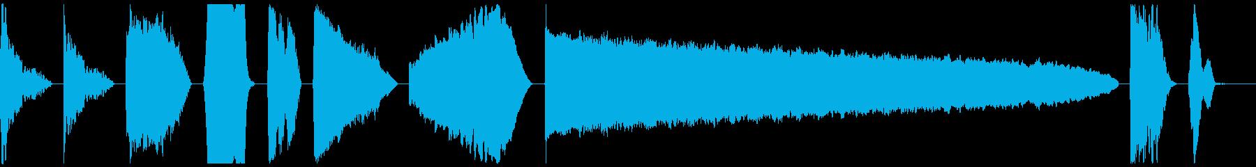 DJ Power Down X10の再生済みの波形