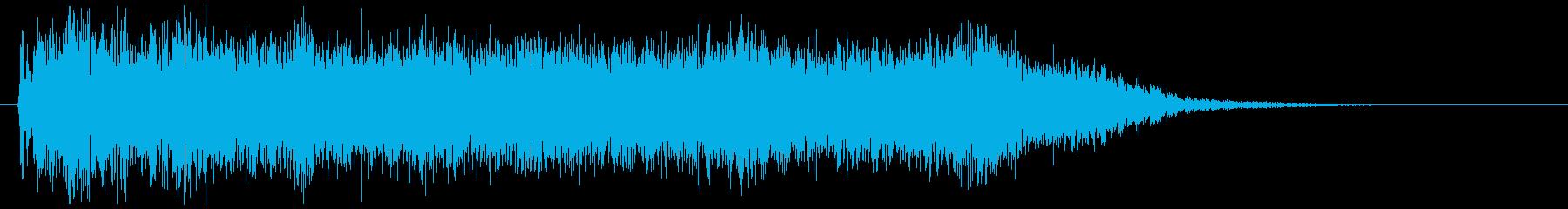 メタルギターフレーズ ダーク 場面転換の再生済みの波形