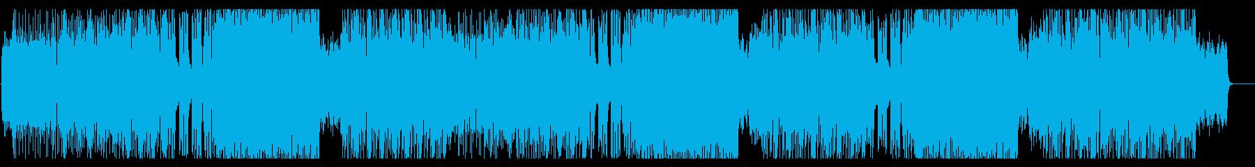 ゲームで敵に遭遇した時のイメージの再生済みの波形