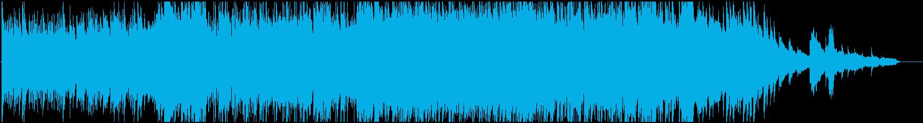 優しいピアノが印象的なポップスの再生済みの波形