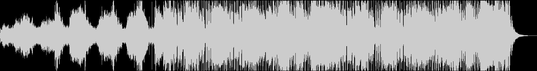 【展開2パターン】悲しくも温かい曲の未再生の波形