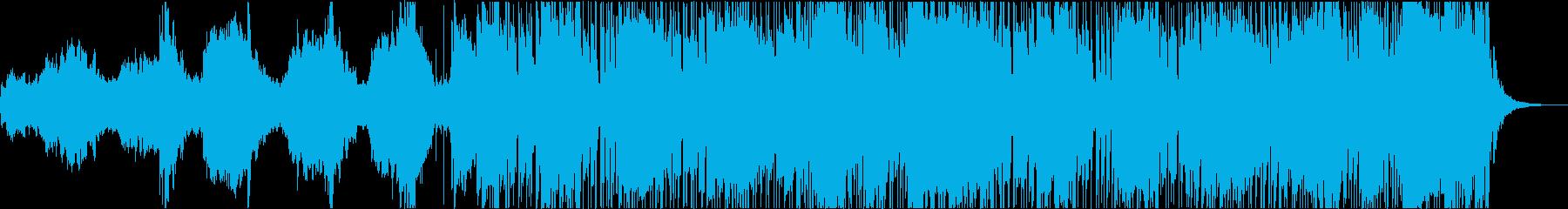 【展開2パターン】悲しくも温かい曲の再生済みの波形