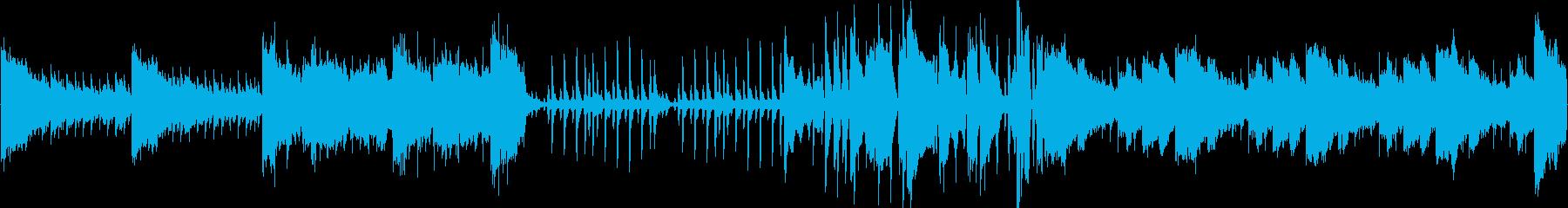 ちょっとダーク系の曲ですの再生済みの波形