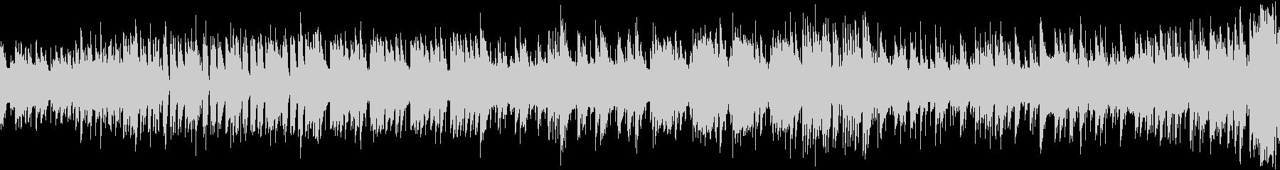 8bit スペースチックな曲 ループ仕様の未再生の波形