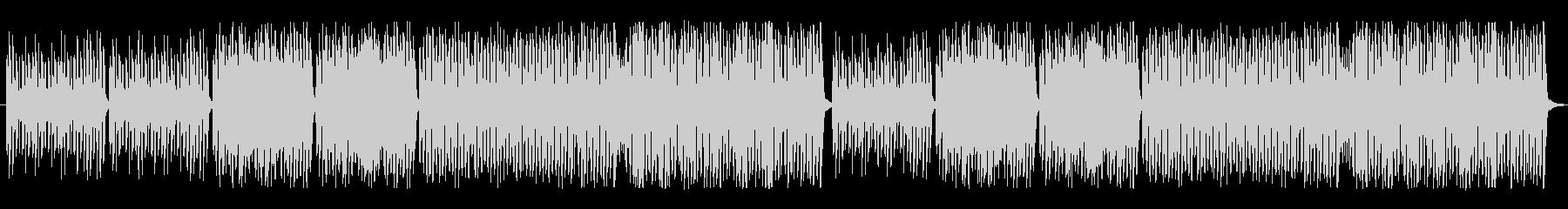 ピアノとリコーダーの可愛い曲の未再生の波形