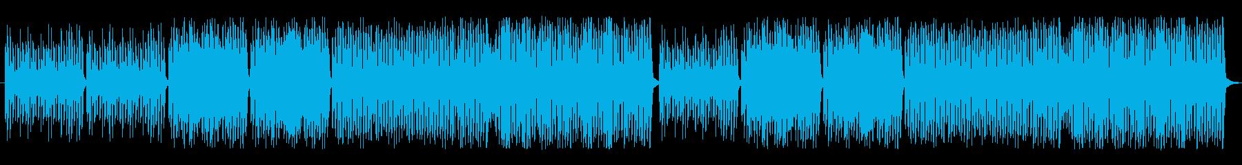 ピアノとリコーダーの可愛い曲の再生済みの波形