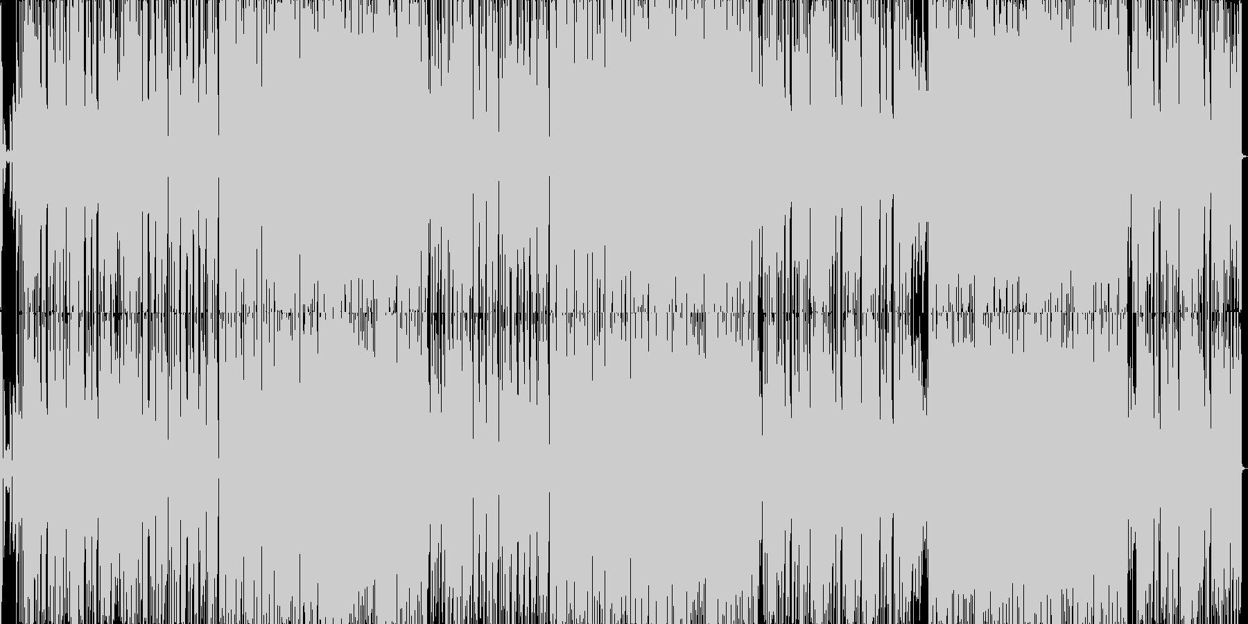 80年代のエレクトロポップの未再生の波形
