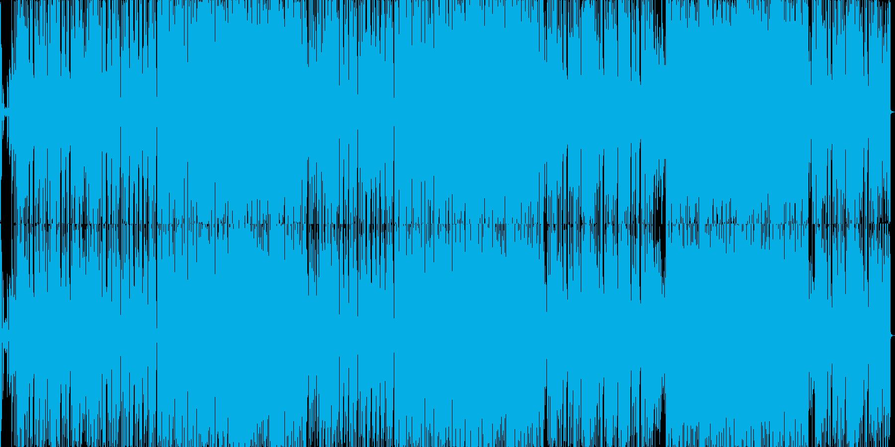80年代のエレクトロポップの再生済みの波形