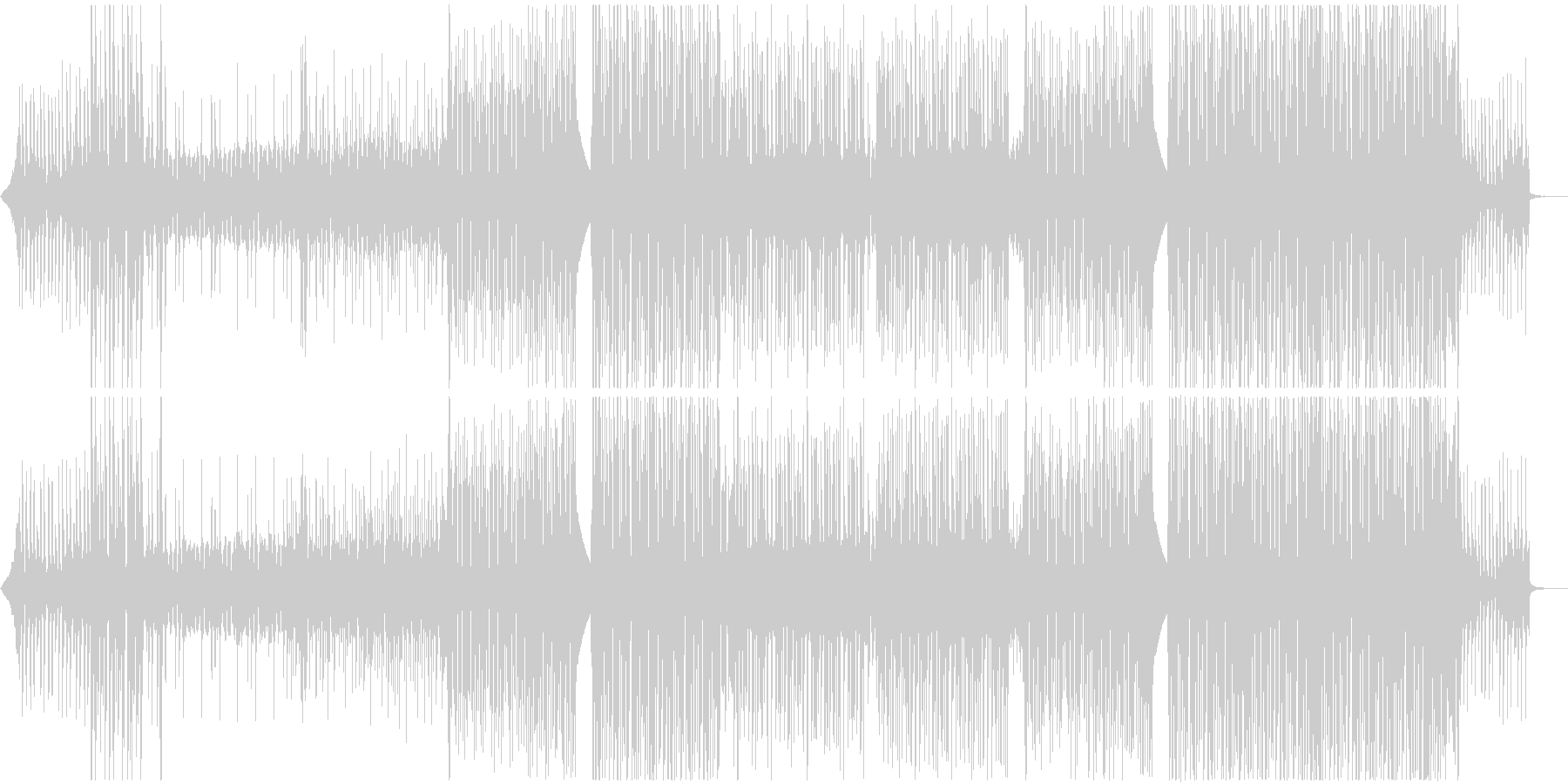 K-POP系Kawaiiポップトラック♫の未再生の波形