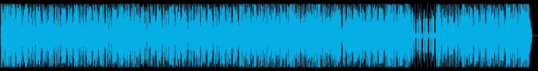 お洒落FUNKブラックミュージックの再生済みの波形