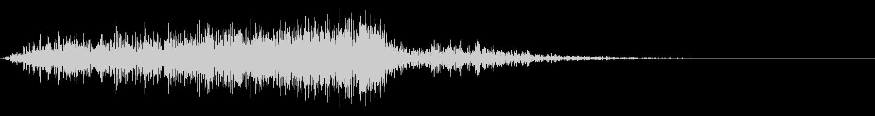 シューッという音EC07_88_1の未再生の波形