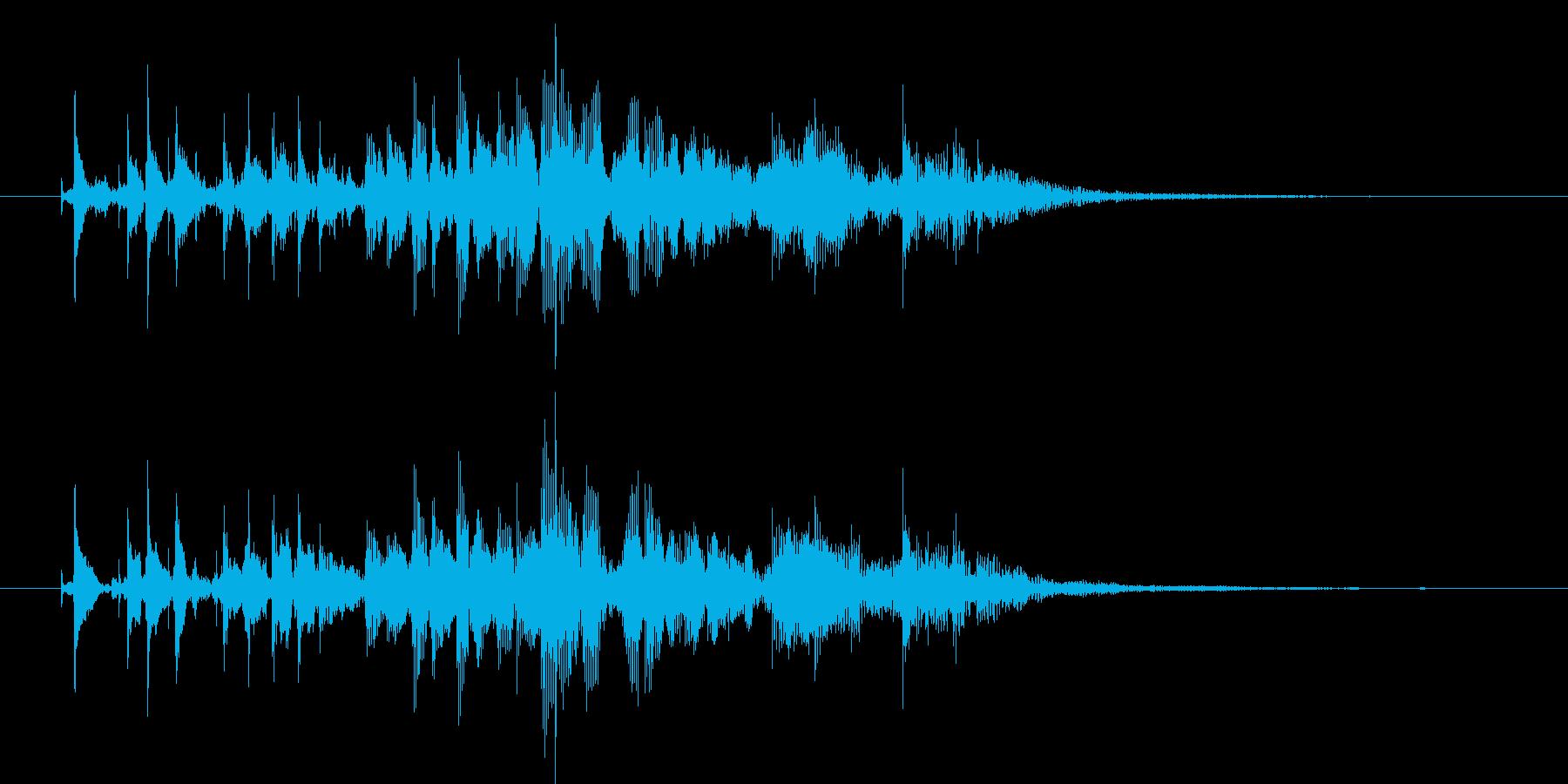 夏 エレキギター テケテケ1 サーフ 海の再生済みの波形