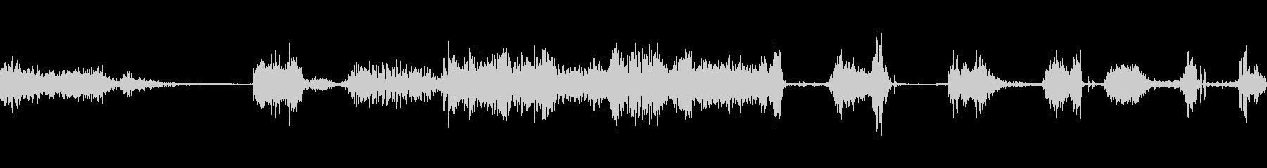 ラジオスキャン2の調整の未再生の波形