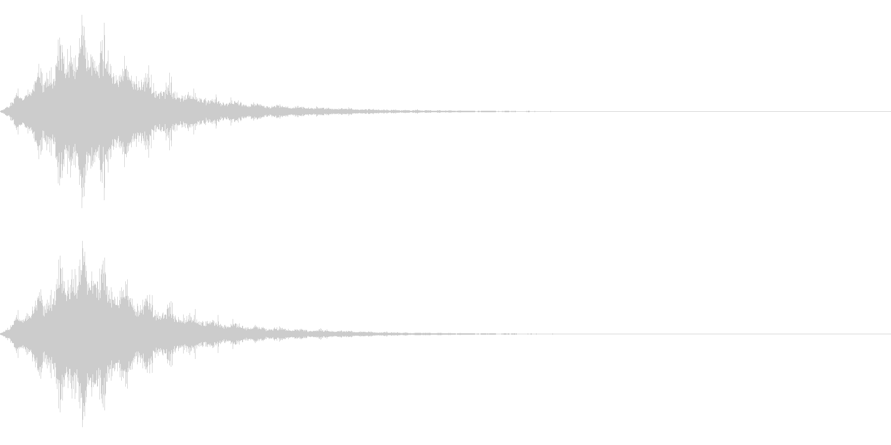 ワープ、SF、速いの未再生の波形
