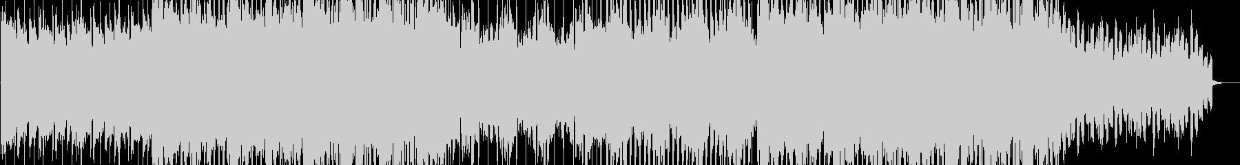 感動的な電子音楽の未再生の波形
