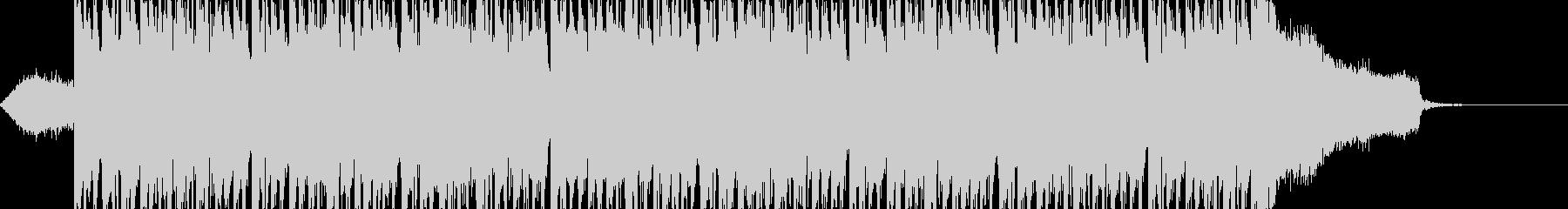 フュージョン系のテクノサウンドの未再生の波形