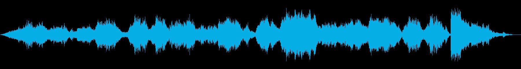 イージーリスニング風結婚行進曲ワグナーの再生済みの波形
