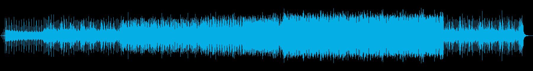 壮大感のあるEDMの再生済みの波形