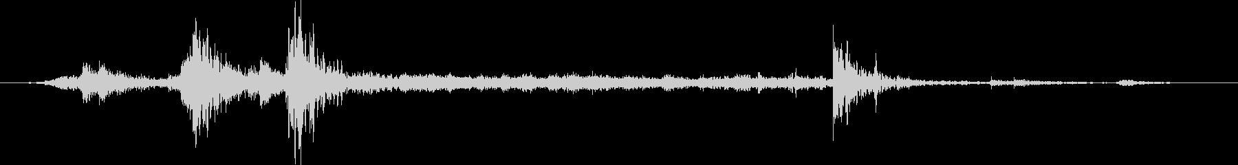 スライド式シャワードア:開閉の未再生の波形
