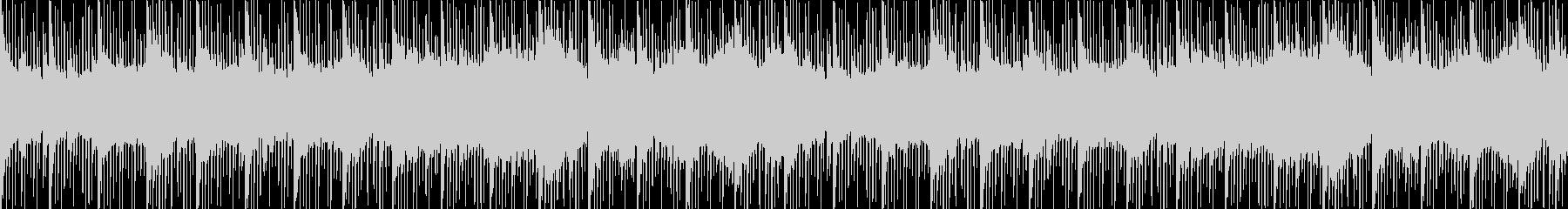 クリスタルの洞窟のテーマの未再生の波形