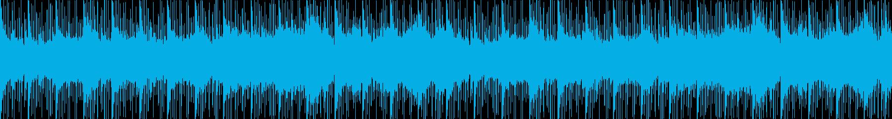 クリスタルの洞窟のテーマの再生済みの波形