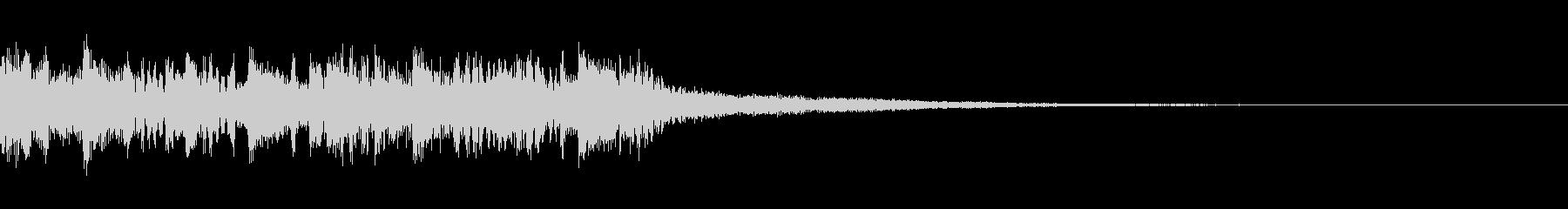 ニュース ラジオ テクノジングル9の未再生の波形