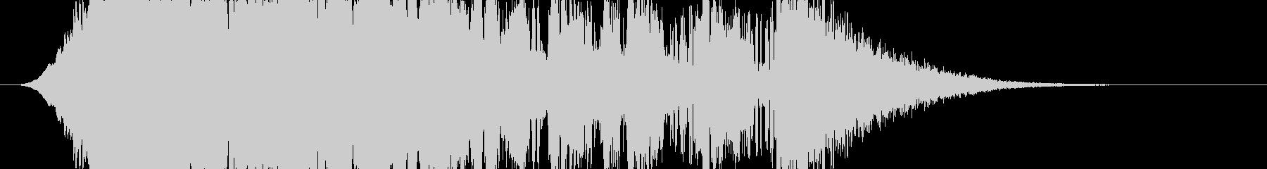 コンピューターが計算するイメージの未再生の波形