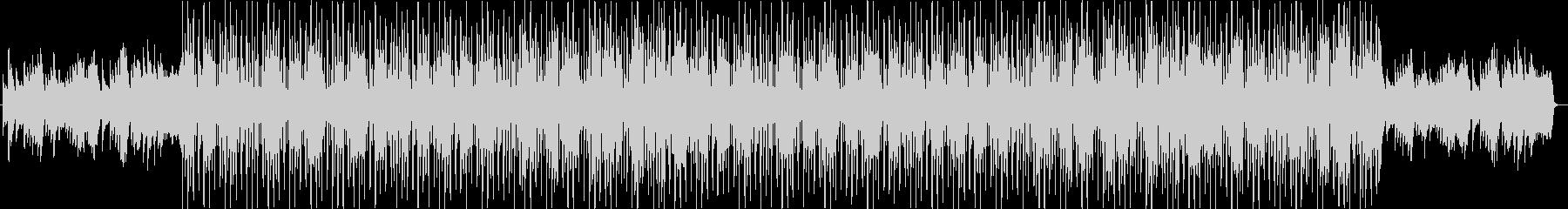 切ないクラシックなリズムトラックの未再生の波形