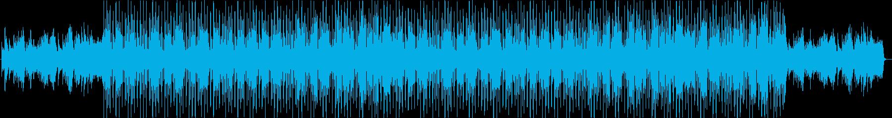 切ないクラシックなリズムトラックの再生済みの波形