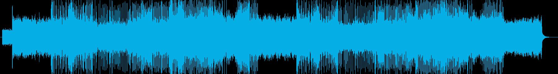 「HARD ROCK」BGM245の再生済みの波形