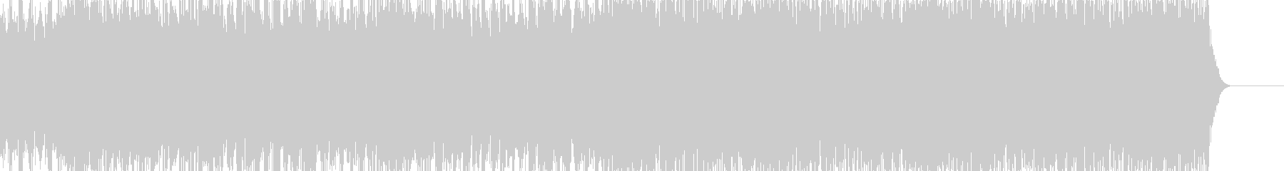 実用的シンセの無機質アンビエントBGM3の未再生の波形