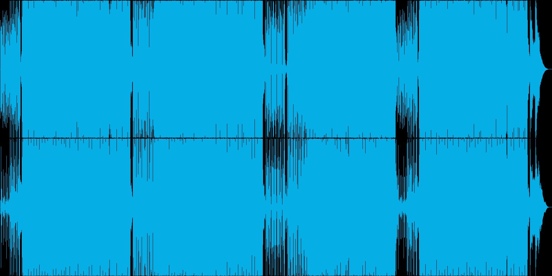オルガンが涼しいレトロ系ボサノバの再生済みの波形