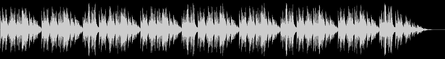 童謡「うさぎ」琴のシンプルなアレンジの未再生の波形