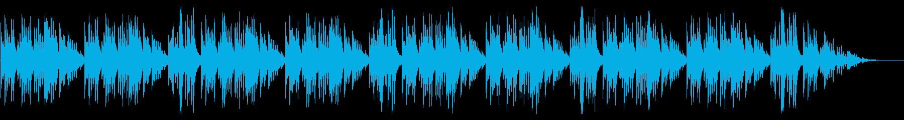 童謡「うさぎ」琴のシンプルなアレンジの再生済みの波形
